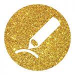 אייקון זהב עיפרון