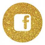 אייקון זהב פייסבוק